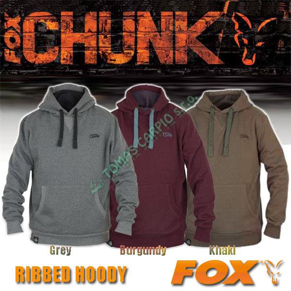 6bd241c2cb Fox CHUNK Ribbed Hoody Khaki XXL mikina
