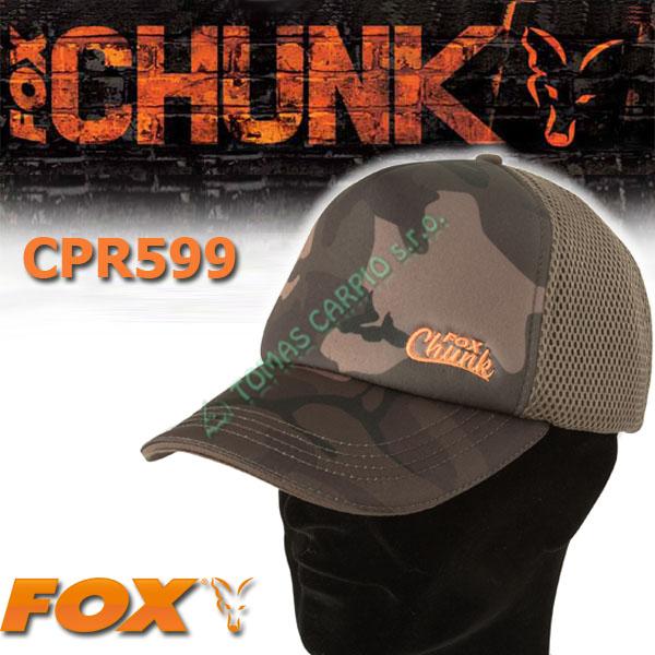 cb45422b92c Fox Chunk Camo Mesh Back Baseball Cap cpr599