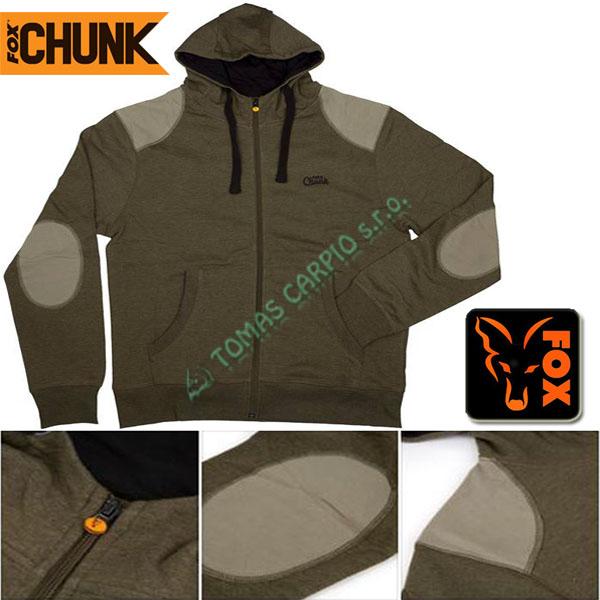 daa0009d92 Fox Chunk Zipped lightweight Hoody Khaki L mikina se zipem