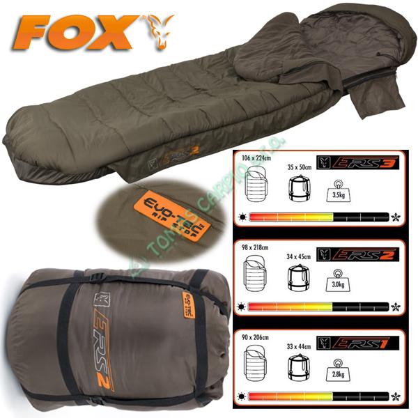 Fox Evo-Tec ERS2 Sleeping Bag 93x213cm spací pytel  9279ab4232