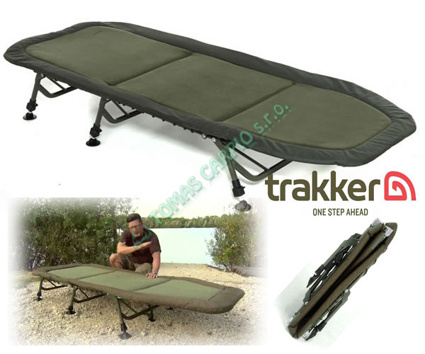 Postel Trakker Levelite Bed lehátko šestinohé  50d3f16eaa
