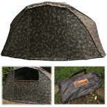 Fox Ultra 60 brolly full CAMO Mozzy screen moskytiéra