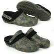 Boty Fox Chunk Camo Fleece clogs vel.10  44 zateplené sandály 609203454d